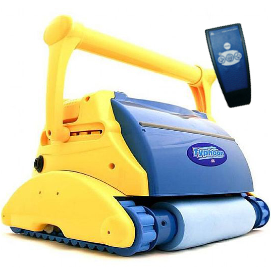 Robot per piscina typhoon compass con telecomando by for Robot piscine typhoon