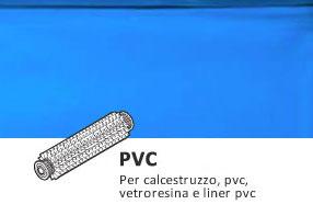 spazzole PVC