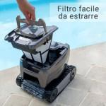 Robot Tornax OT 2001 Zodiac filtro facile