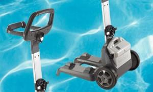 carrello robot piscina