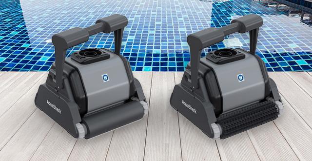robot per piscine aquashark ts