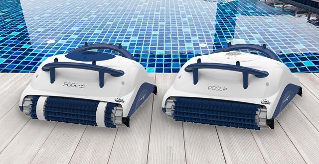 robot per piscine dolphin pool